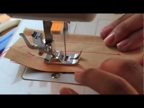 Aprende a utilizar la maquina de coser: puntadas básica