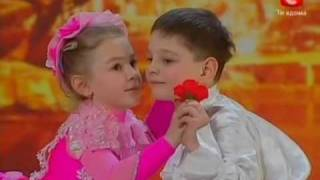Repeat youtube video Ukraine's got talent very cute children performance (english subtitles)