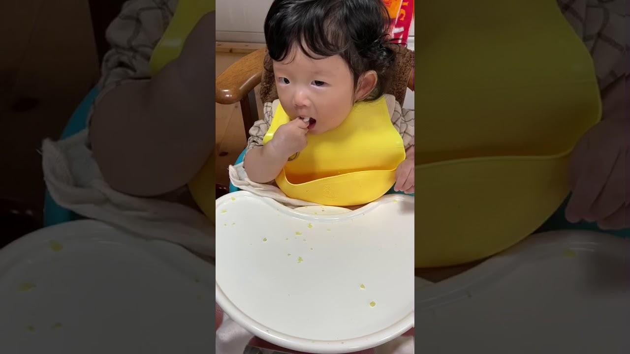 スプーンの使い方、これでいい!?(9か月児)
