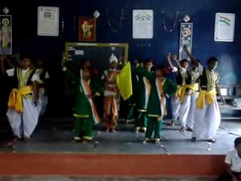 vande matram hd school video