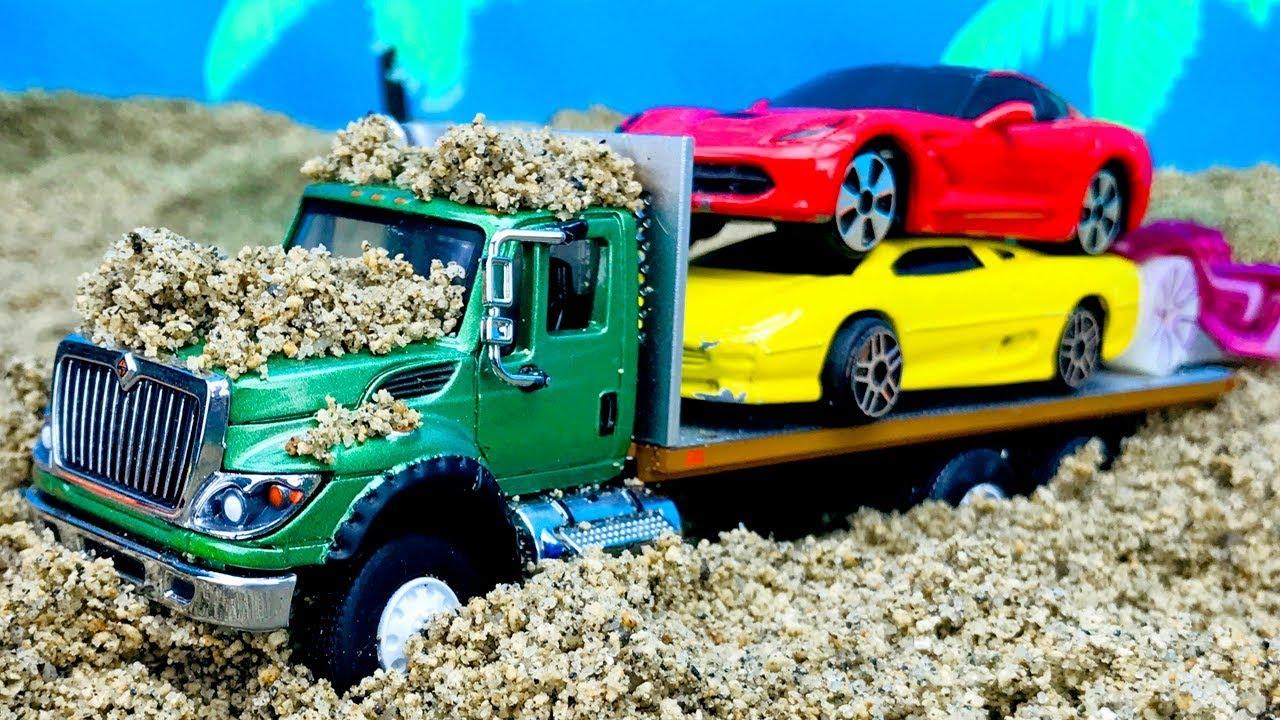 Download Camiones, Coches y Autos para Niños - Compilación de Carritos de Juguetes Infantiles