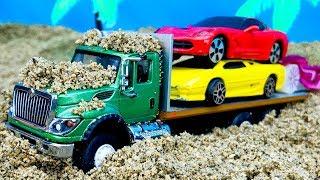 Camiones, Coches y Autos para Niños - Compilación de Carritos de Juguetes Infantiles