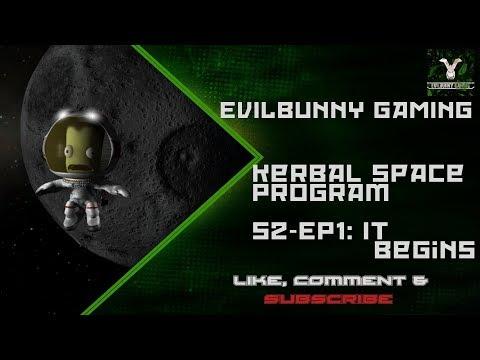 KSP RO _ Season 2 EP1 Space Race Begins -- by EvilBunny Gaming