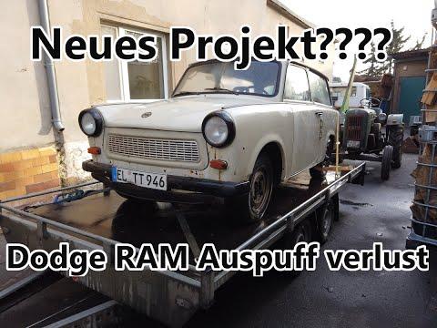 WerkstattVlog | Trabant 601 | Neues Projekt??? | CM Motors | TOP o. Schrott? | Dodge RAM