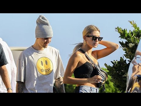 Justin Bieber And Hailey Baldwin Grab A Snack At The Gas Station On Their Way To Nobu Malibu