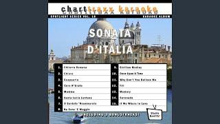 Santa Lucia Luntana (Karaoke Version in the style of Italian Standards)