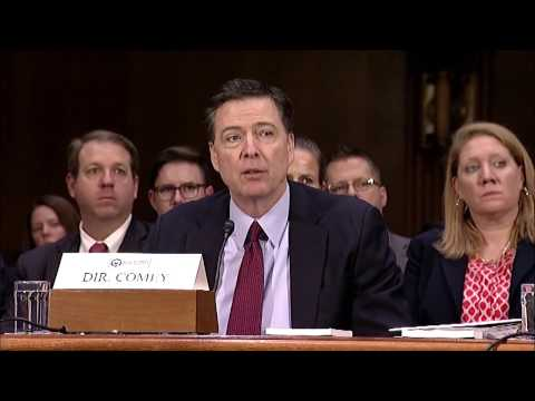 Comey Refuses to Say Whether the FBI Has Investigated Trump Associates' Ties to Russia