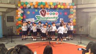 Kinderfield School Depok in Action! - Choir Competition (Terima Kasih Guruku Song)