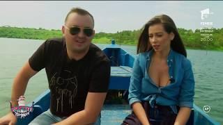 Nea Mărin și-a dus ajutoarele la pescuit, iar lui Vasilică Ceterașu' i s-a făcut rău de la miros