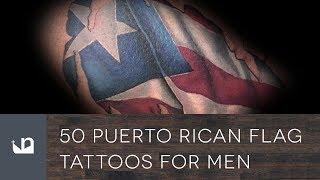 50 Puerto Rican Flag Tattoos For Men
