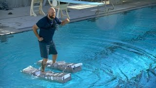 "Will ""Canoe Shoes"" Let You Walk On Water? 