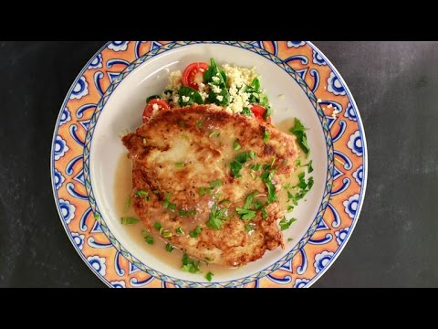 A Chicken Francese Dish By A 9-Year-Old 'MasterChef Junior'