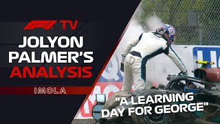 Russell And Bottas' Crash Drama | Jolyon Palmer's F1 TV Analysis | 2021 Emilia Romagna Grand Prix