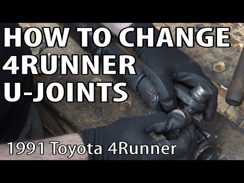 How to Replace Toyota 4Runner U-Joints (Not Your Pappy's U-Joints)