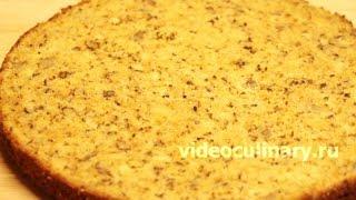 Тыквенный масляный бисквит - Рецепт Бабушки Эммы