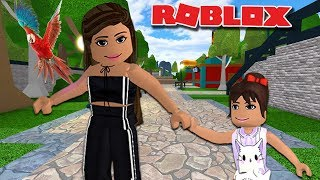 TAKING MY DAUGHTER TO THE ZOO | Roblox Roleplay | Robloxia Zoo