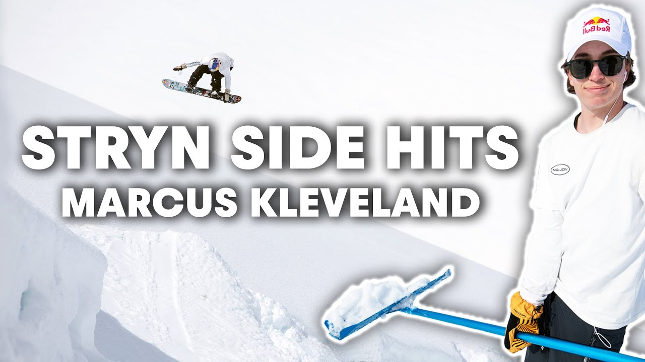 Feel-good side hits with jibmaster Marcus Kleveland in Stryn