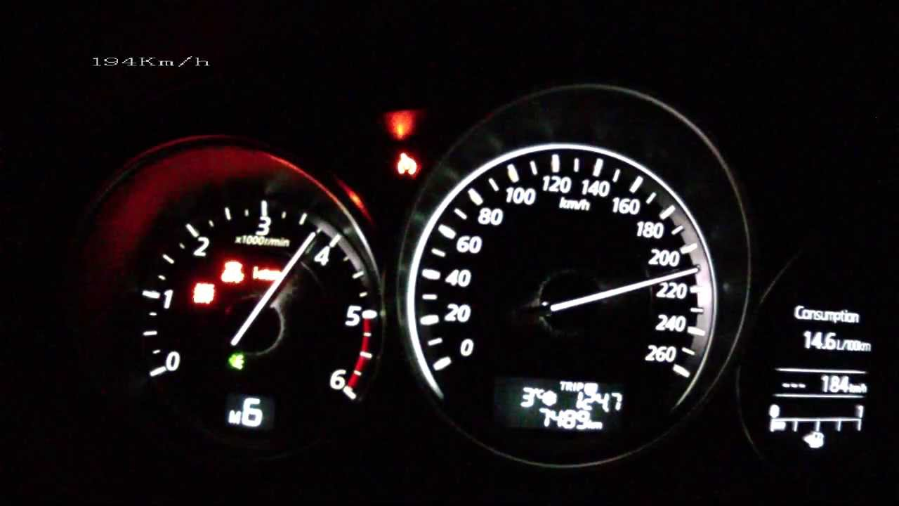 mazda 6 2013 2 2 skyactiv d acceleration 0 200 km h vmax test youtube. Black Bedroom Furniture Sets. Home Design Ideas