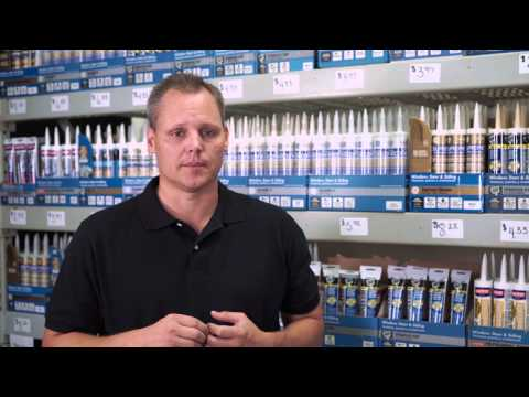 How-To Select the Right Caulk