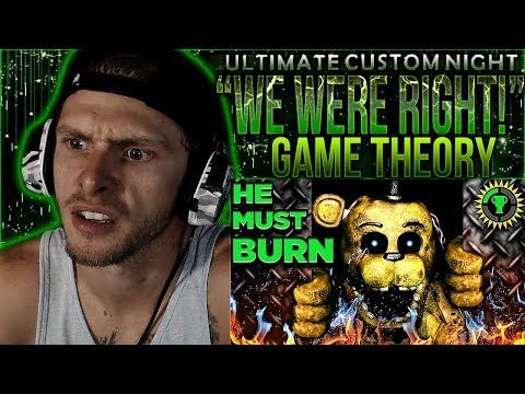 Vapor Reacts #679 | FNAF UCN GAME THEORY We Were ALL RIGHT! by The Game Theorists REACTION!!