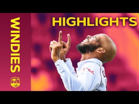 Windies Defeated As Bumrah Takes 5-7   Windies Vs India 1st Test Day 4 2019 - Highlights
