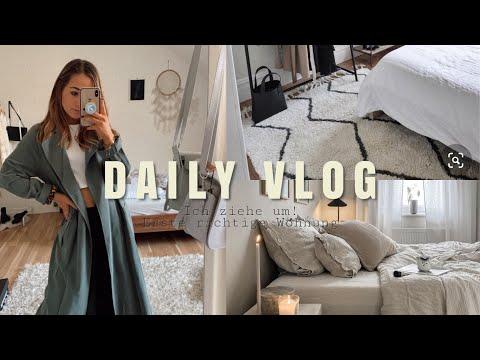 """IT´S OFFICIAL: ICH ZIEHE UM! In meine erste """"richtige"""" Wohnung, lernen ▹ Daily Vlog ♡"""