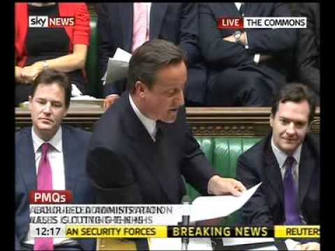 """Sexist Cameron tells Angela Eagle: """"Calm down, dear"""""""