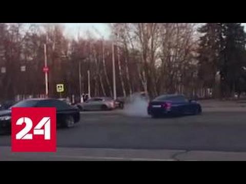 Дрифт на Воробьевых горах: полиция ищет экстремалов и тех, кто выложил видео в Сеть