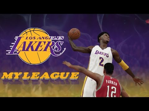 NBA 2K15 MyLeague Mode Ep.21 - Los Angeles Lakers - Kobe Bryant Injured! Who steps up?