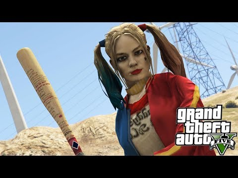 GTA V Harley Quinn's Bat (Suicide Squad)