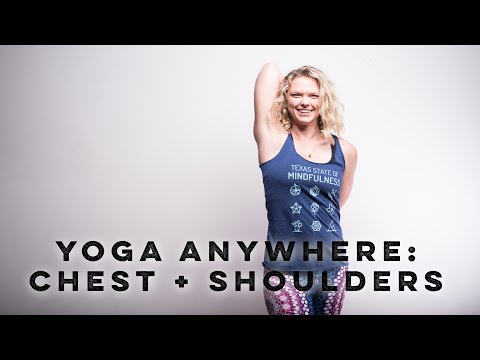 Go-To Stretches for Chest + Shoulders
