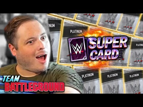 OPENING 25 X TEAM BATTLEGROUND VANGUARD REWARDS!! | WWE SuperCard Season 6