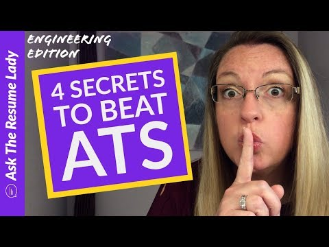 4 Secrets To Beat ATS – Applicant Tracking System | Advice From ATRL | Job Search Advice
