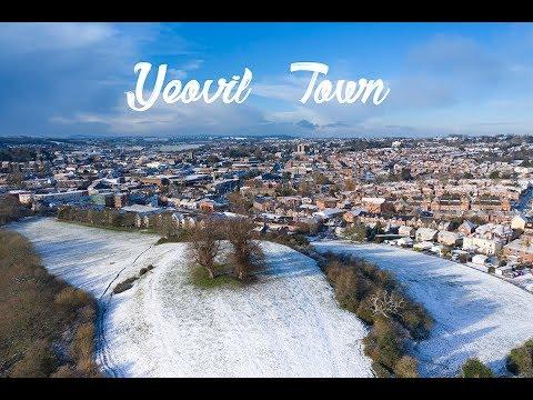 Yeovil Town Drone Snow Views  30th Jan - 1st Feb 2019