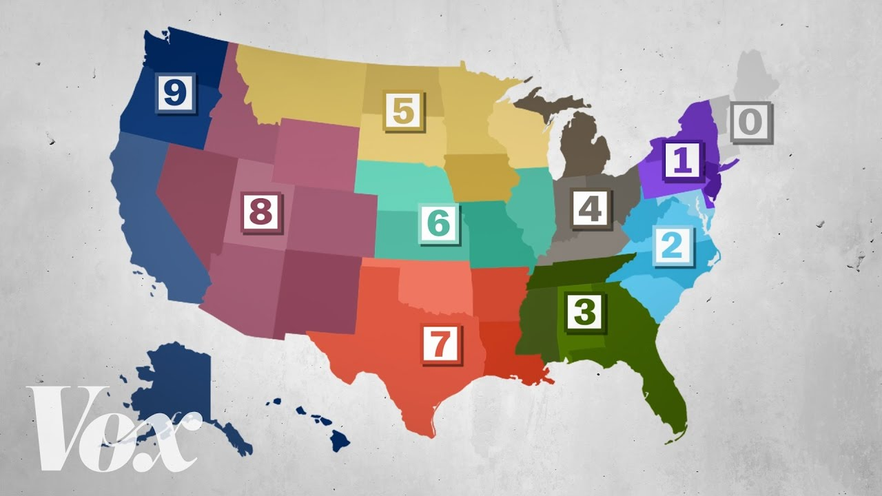 How Zip Codes Helped Organize America YouTube - Us zip code regions
