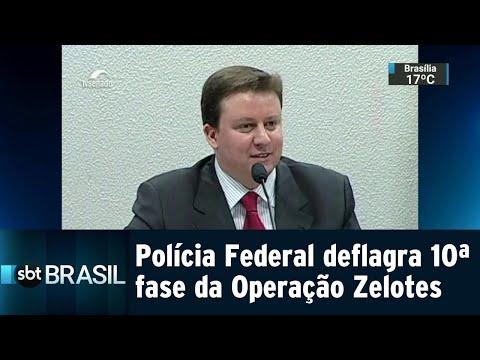 PF cumpre 11 mandados de busca e apreensão da Operação Zelotes | SBT Brasil (26/07/18)