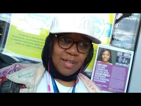 Media Alert: Dimples D welcomed to SouthSide Jamaica, Queens by #DJShasia, MS, est. 1975 @DJPreme
