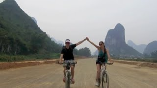Guangxi Province Vlog: Biking the YangShuo Countryside!