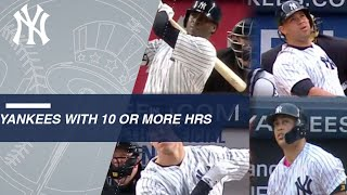 Stanton, Judge, Gary and Didi on historic pace