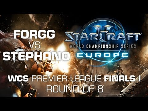 Stephano vs. ForGG - Semi Finals - WCS Europe Premier League