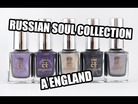 A England - Russian Soul collection || Marine Loves Polish