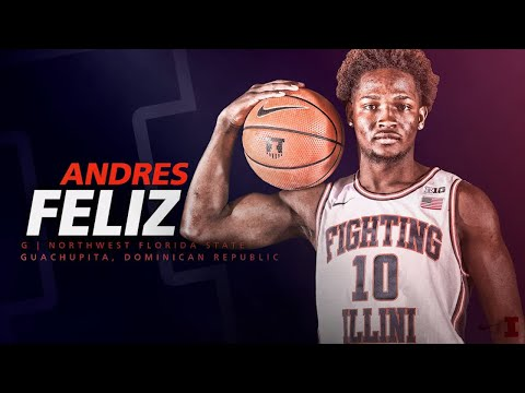 Illinois Men's Basketball Signing Class 2018 » Andres Feliz
