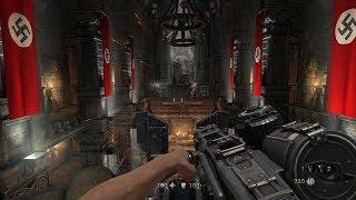 DARING ESCAPE from Castle Wolfenstein Part 3 ! WW2 FPS Game Wolfenstein The Old Blood