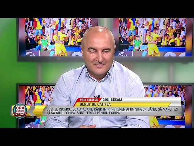 Becali: In 12 etape suntem lideri, ne-am asumat ultimul loc pentru banii de la UEFA! !