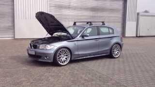 BMW 1er E87  M3 V8 Motor 440 PS Tachovideo 0-275 km/h TJ-Fahrzeug-design.com