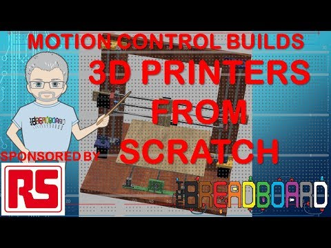 Build a 3D printer from scratch pt1