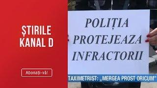Stirile Kanal D (20.05.2019) - UBER VS TAXI! Taximetrist &quotMergea prost oricum!&quot E ...