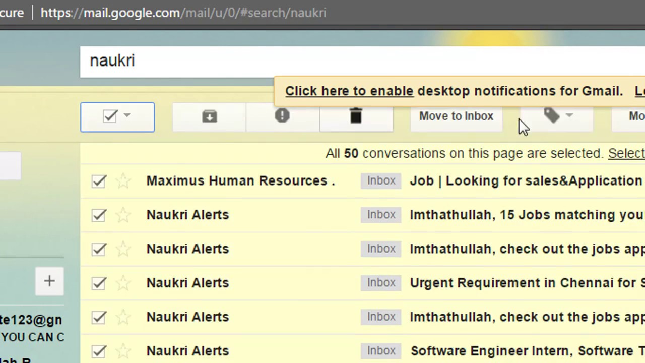 How To Delete Emails From A Specific Sender Quickly