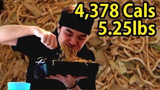 Panda Express Chow Mein Challenge (Whole Party Tray)