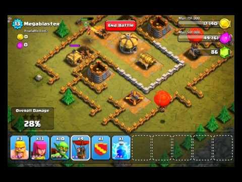 Clash of Clans Level 14 - Megablaster